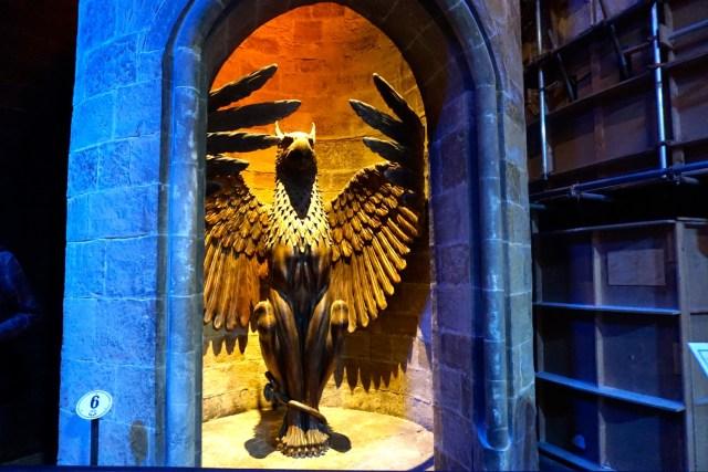 harry potter studios london dumbledore office door