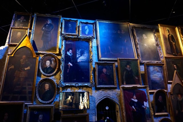 harry potter studios london portraits