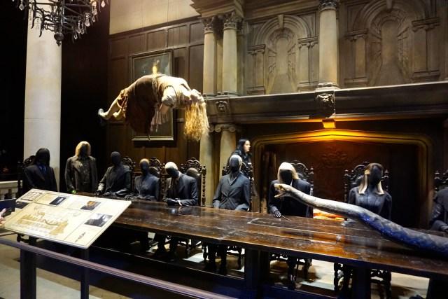 harry potter studios london death eaters