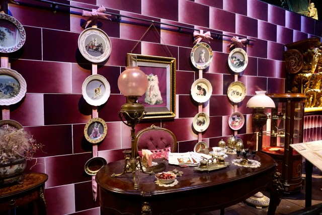 harry potter studios london umbridge office