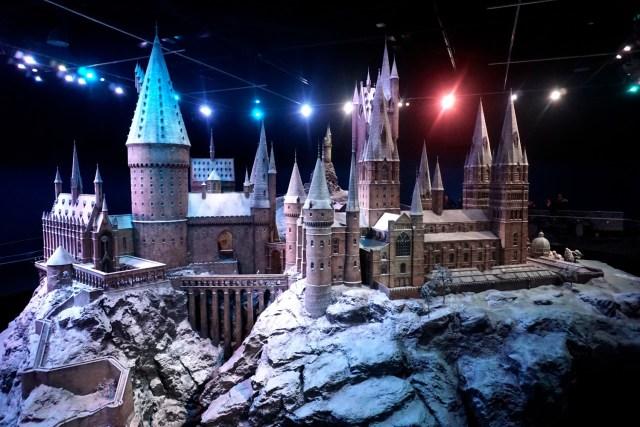 harry potter studios london hogwarts castle