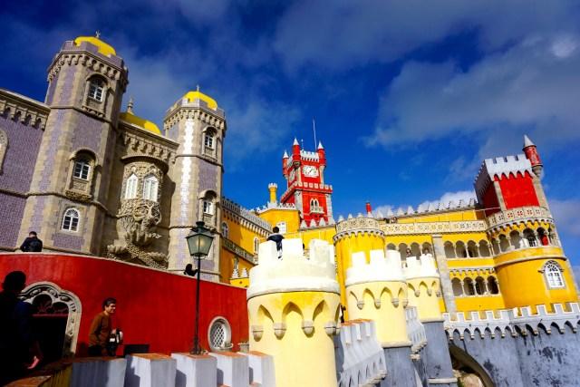 sintra lisbon best day trip pena palace