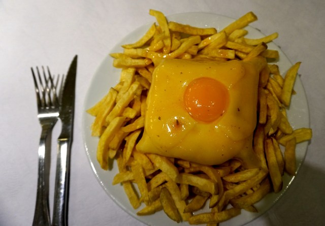 what to eat in portugal lisbon porto franceschina
