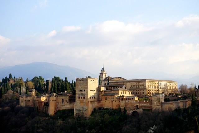 3 days in granada albayzin alhambra