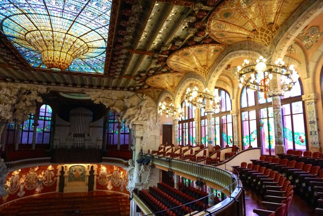 Guide to Barcelona Palau de la Musica Catalan