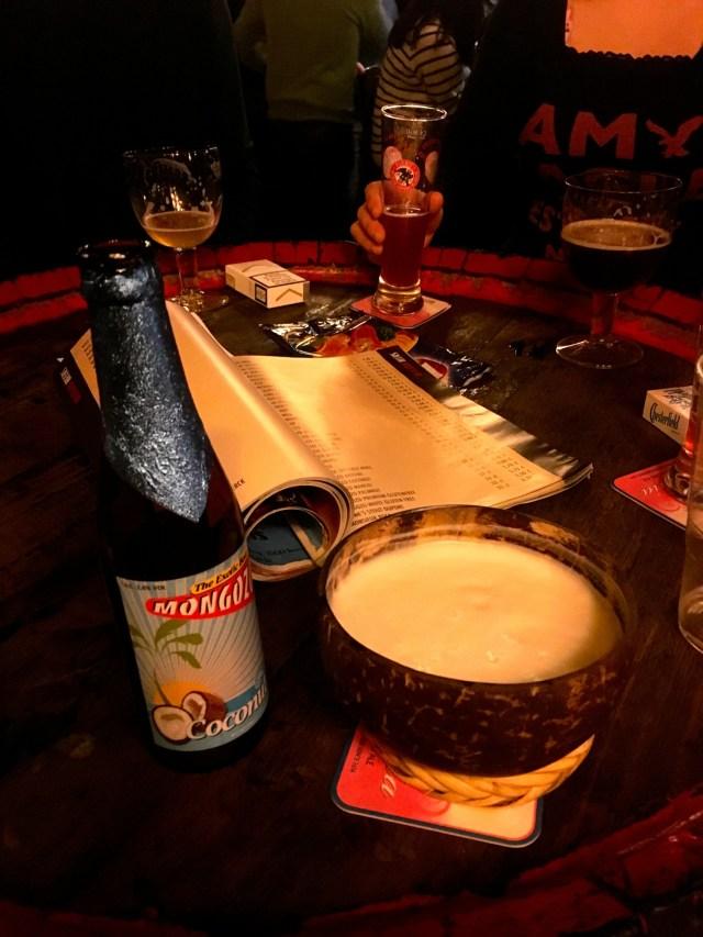 what to eat in belgium beer