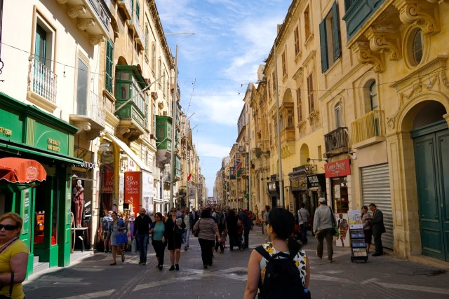 five days in Malta valletta