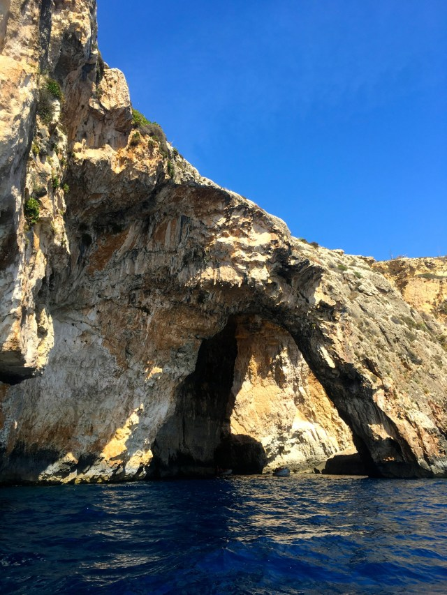 five days in Malta comino blue grotto