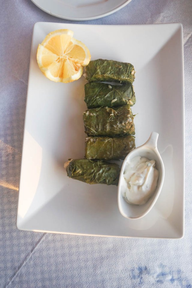 what to eat in greece dolmades