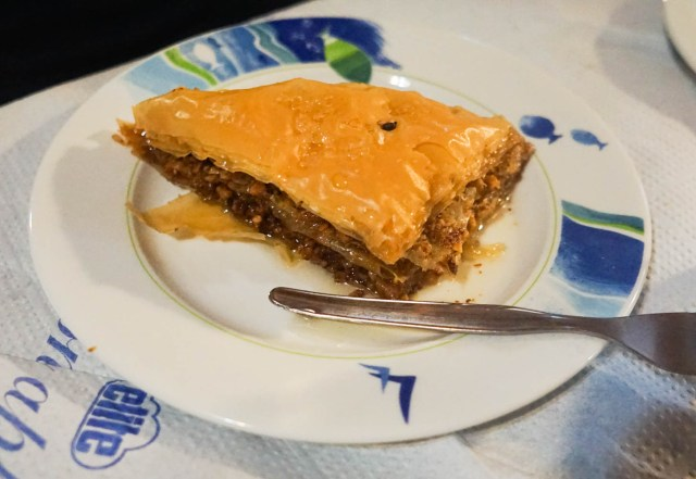 what to eat in greece baklava