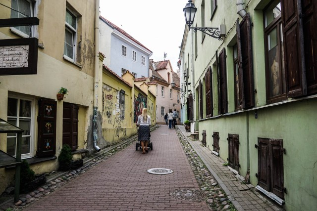 what to do in vilnius lithuania quirky literature street