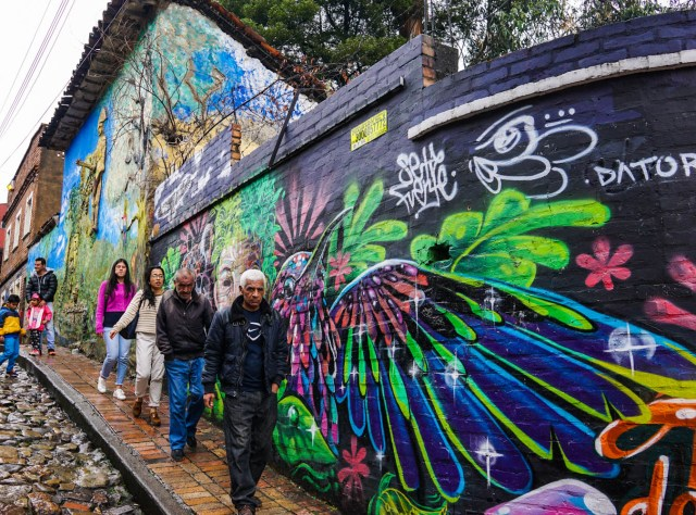 two days in bogota colombia