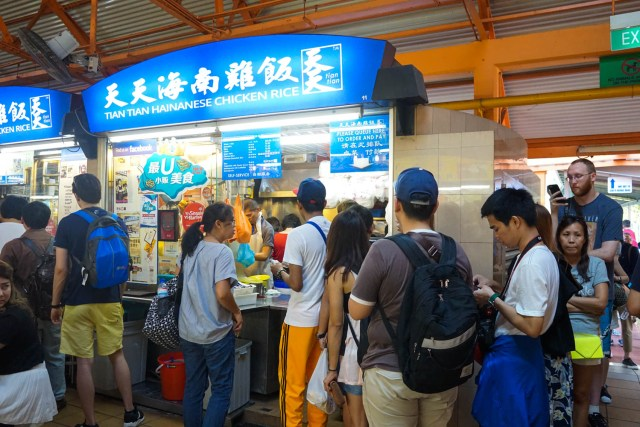 what to eat in singapore hawker hall food crawl tian tian chicken rice