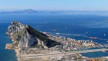A Rocha, em Gibraltar, local do Prova Vertical