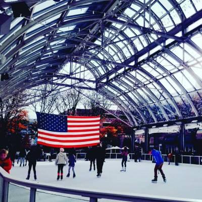 Reston Town Center Ice Skating Pavillion