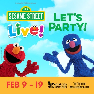 Party in NYC with Sesame Street Live! Let's Party!