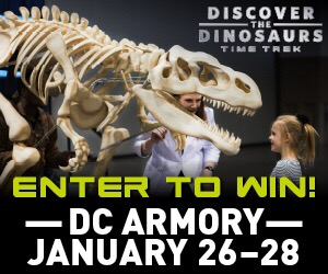 GIVEAWAY: Discover the Dinosaurs: Time Trek!