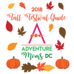 2018 Adventure Moms DC Fall Festival Guide