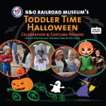 GIVEAWAY: Halloween Toddler Time & Costume Parade at the B&O Museum