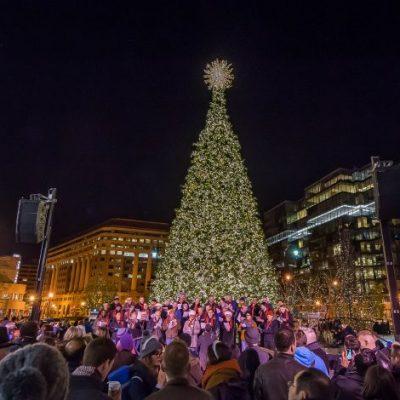 2019 CityCenterDC Holiday Tree Lighting