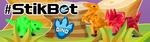 Dino Stickbots (Photo: Stickbot)
