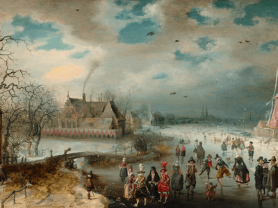 The Ice Rink at the National Gallery of Art