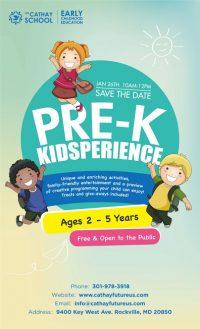 Pre-K Kidsperience by Washington Cathay Future Center