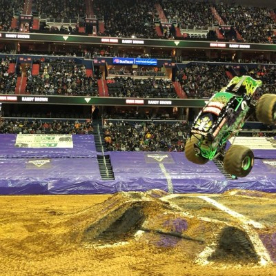 Monster Jam leaves DC with a Roar!