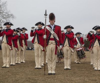 Washington's birthday celebration at Mount Vernon