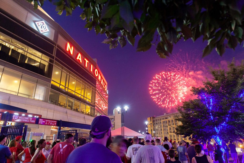 Nationals Fireworks