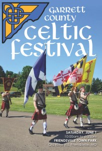 Celtic Festival in Friendsville Flyer