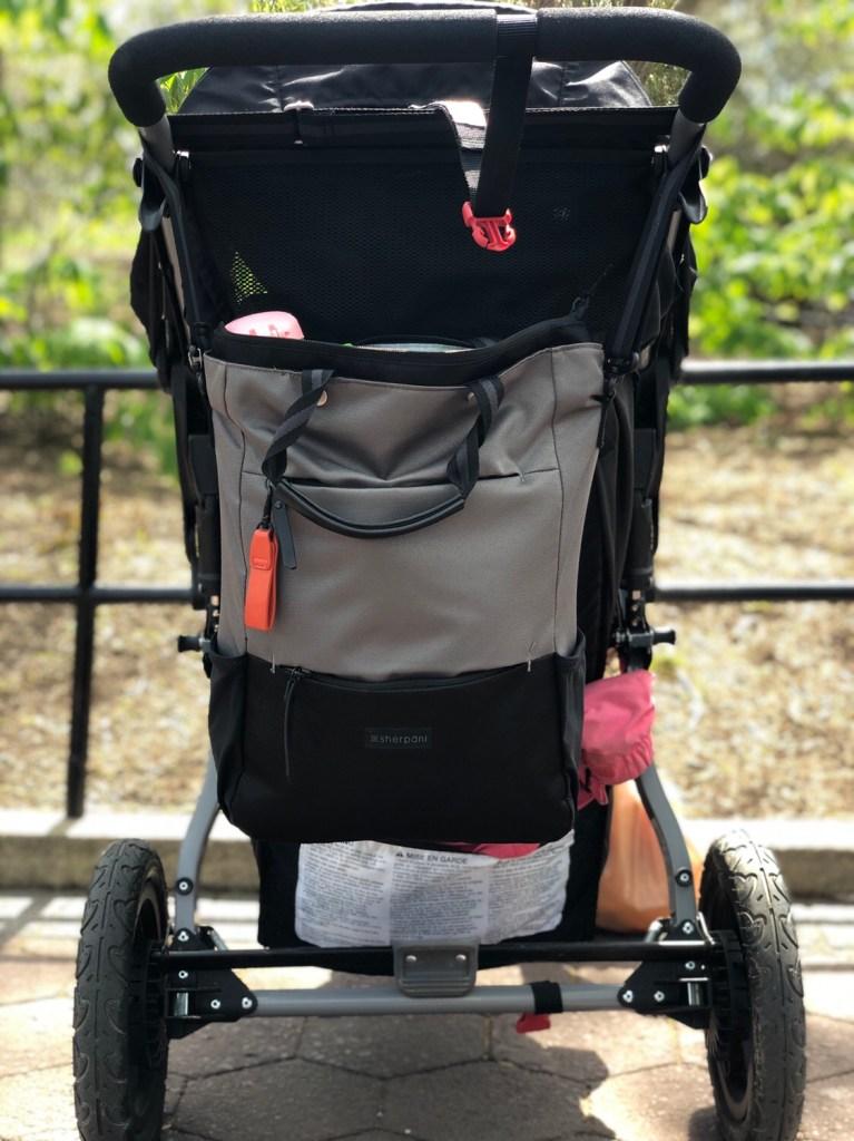 camden bag on stroller