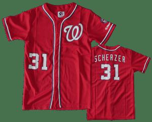 Kids Max Scherzer Jersey Giveaway
