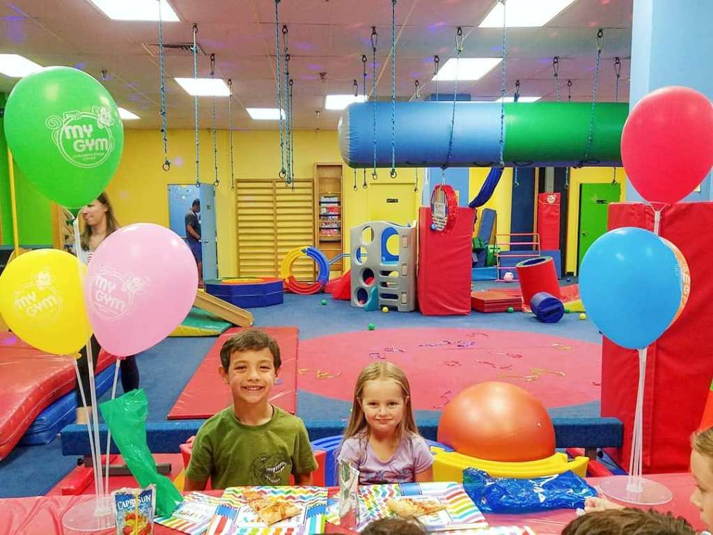 kids birthday party at My Gym Potomac