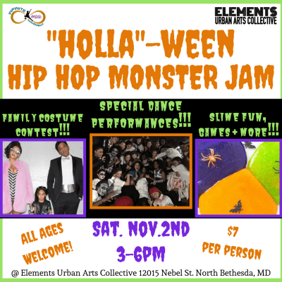 """Holla""-ween Hip Hop Monster Jam"