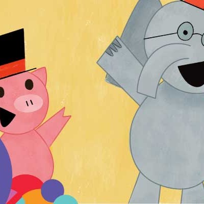 "Elephant and Piggie's ""We Are In A Play!"" at Adventure Theatre"
