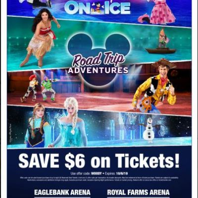 Disney On Ice presents Road Trip Adventures is Coming to To Eagle Bank Arena Oct. 2-6! *PROMO CODE INSIDE!*