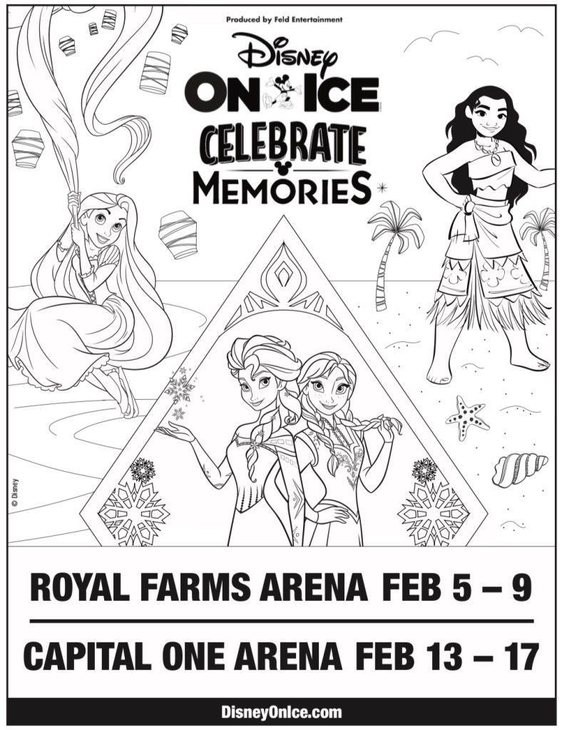 Disney on Ice Coloring Page