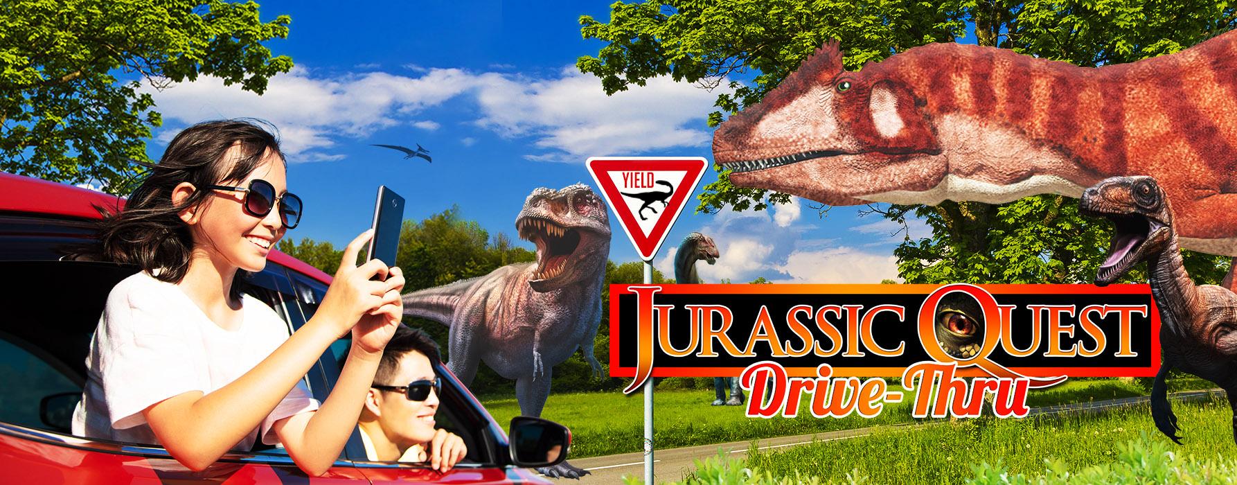 Jurassic Quest Drive-Thru car