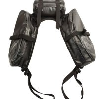 Giant Loop MSB-BLACK MoJavi Saddlebag - 13.5 Liter Capacity