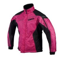Women's Yamaha Adventure Jacket (Fuchsia/Black) by Yamaha OEM. Removable Thermal Flex Insulated Lining. 360-Reflective Protection. SMW-12JAD-FU