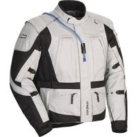 Cortech Sequoia XC Adult Textile Road Race Motorcycle Jacket - Grey/Black / Large