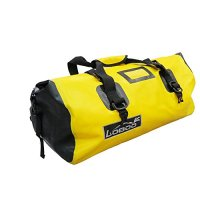 Loboo Waterproof Bag Expedition Dry Duffel Bag Motorcycle Luggage For Travel ,Sports, Cycling,Hiking,Camping (90l, yellow)