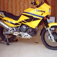 super tenere xtz750 amarela