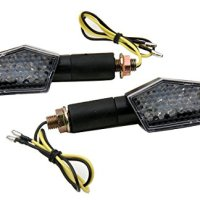 2 PCS Long Stalk LED Turn Signals Lights Blinkers for 2001 Honda XR650L