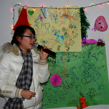 Christmas in China, part 2 – Singing loud for all to hear