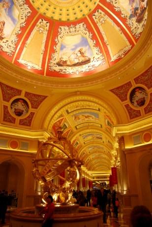 Venetian Hotel and Casino in Macau, China