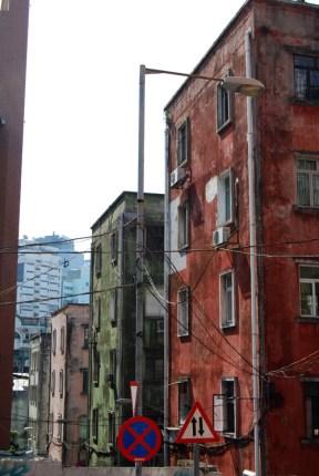 Colorful Macau Buildings
