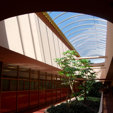 Bridging the Hills with Graceful Arches: Frank Lloyd Wright's Marin County Civic Center