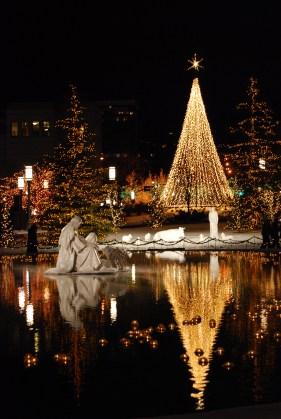 Christmas at the Salt Lake Temple